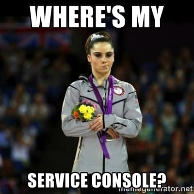 wheresmyserviceconsole