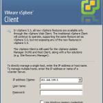 vsphere thick client