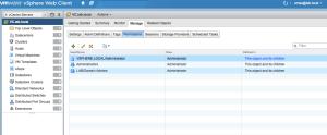 vsphere web client manage vcenter