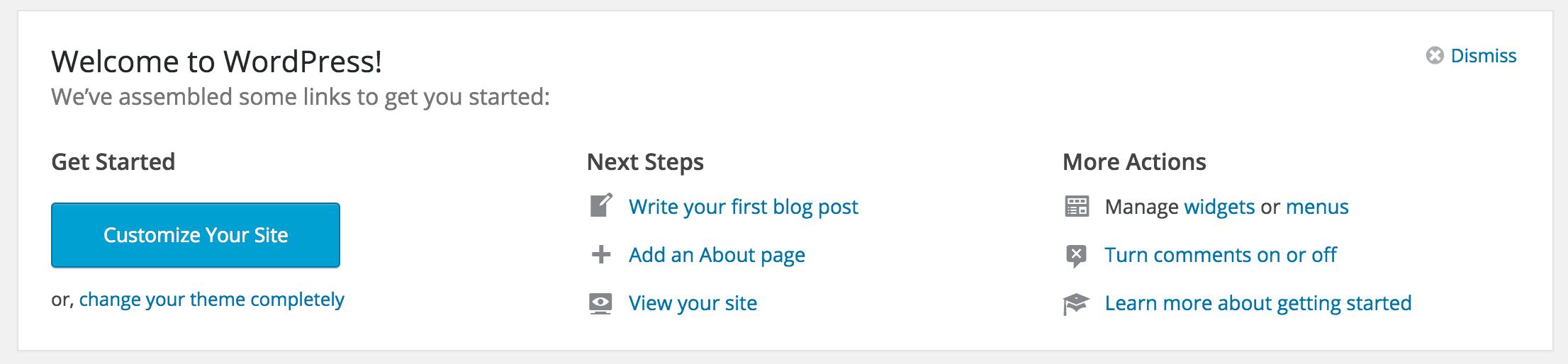 getting started blogging