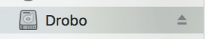 drobo 5d Mac OS x