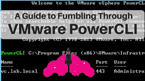 guide to VMware powercli