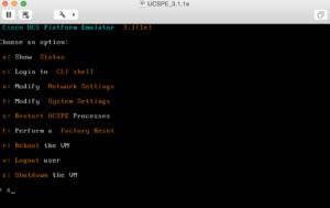 cisco ucs emulator appliance options ucspe platform