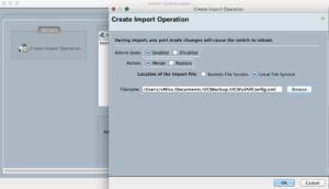 cisco ucs emulator ucs manager import operation ucspe platform