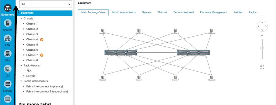 cisco ucs manager html 5 web interface
