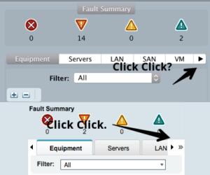 cisco ucs manager left navigation java client