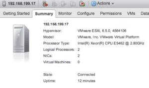 vmware vcenter update manager umds vsphere 6.5 appliance esxi host