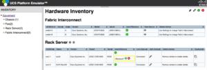cisco ucs emulator hardware inventory ucspe