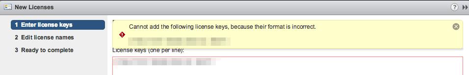vmware vcenter vsphere license ad error web client