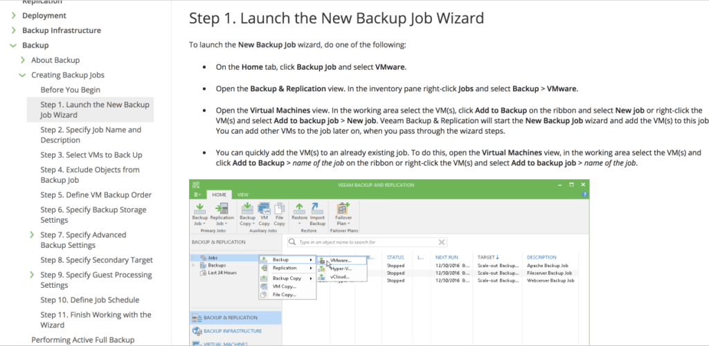 veeam-vmware-backup-job