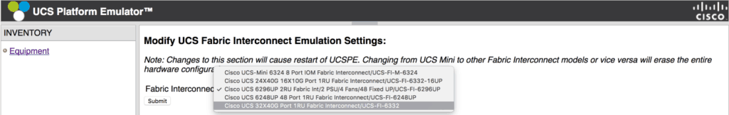 cisco ucs pick fabric interconnect ucspe ucs manager