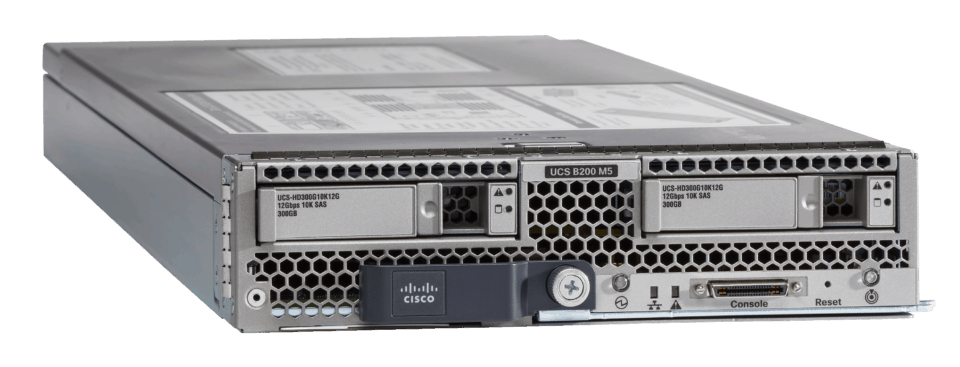 cisco ucs documentation spec sheet data sheet b200 m5 b-series blade server