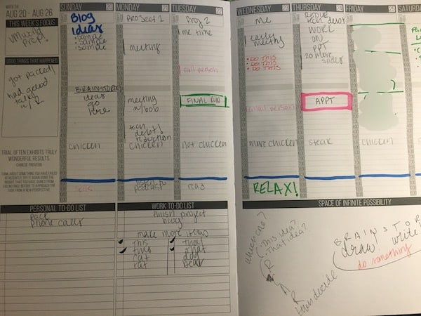 make a plan to achieve your goals passion planner growth