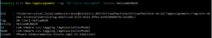 sphere tag powercli assign
