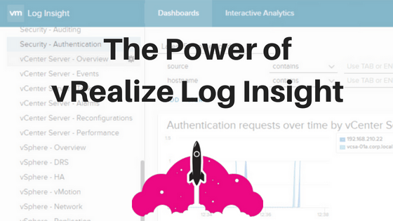 The Power of vRealize Log Insight | vMiss net