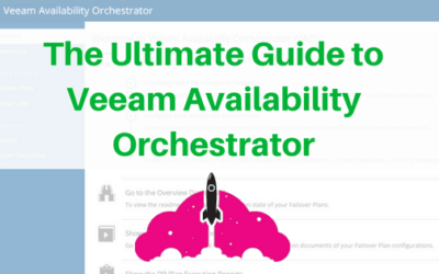 ultimate guide to Veeam Availability Orchestrator VAO disaster recovery business continuity