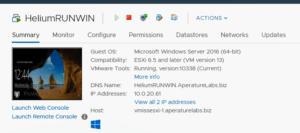VMware vSphere Update Manager VMware Tools Upgrade Complete