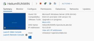 VMware vSphere Update Manager VMware Tools Upgrade In Progress