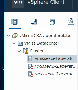 vSphere 6.7 U1 assign license reconnect host VMware