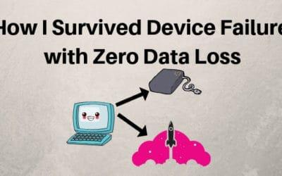 no data loss device failure backup recovery computer