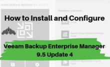 Introduction to Veeam Backup from Storage Snapshots with Veeam and