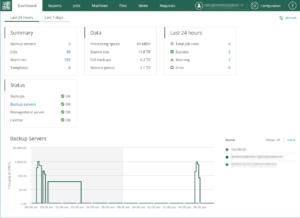 veeam backup enterprise manager dashboard