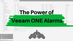 Veeam ONE Alarm Custom Availability Suite