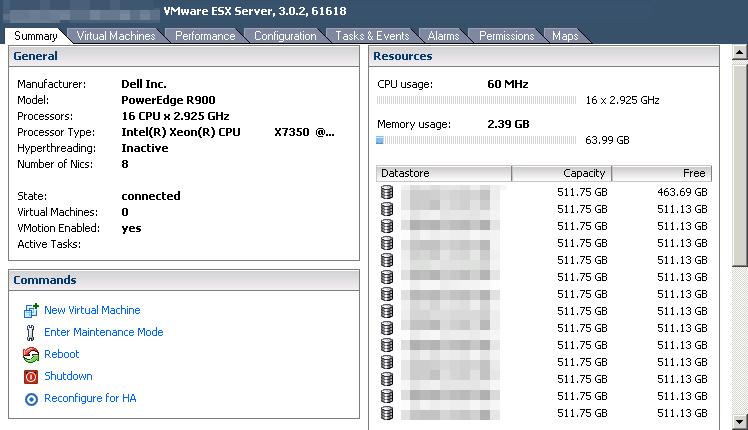 vmware esx 3 host vi3