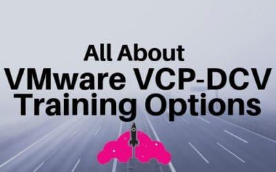 vmware training certification vcp dcv vsphere
