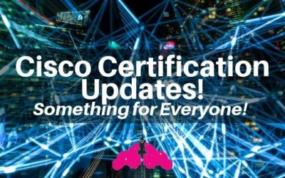 Cisco Certification Updates 2019
