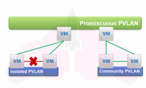 vmware distributed virtual switch private vlans security