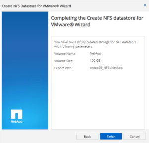easy way to create nfs datastore for vmware