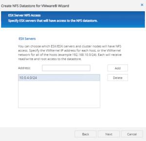 create datastore vmware esxi netapp nfs easy