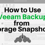 Veeam Backup storage itegration