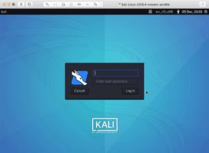 VMware Fusion Kali Linux