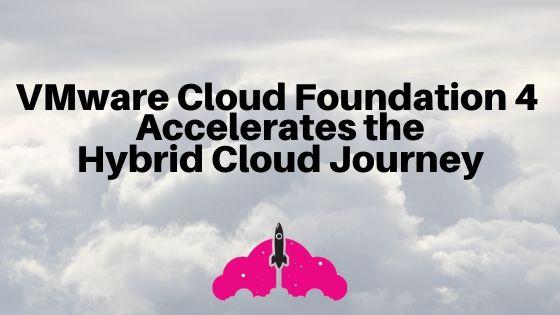 vmware cloud foundation hybrid cloud