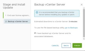 install vmware vcenter patches
