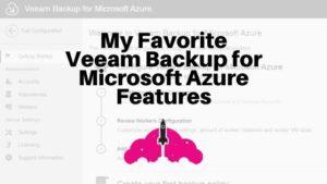 Veeam Backup for Microsoft azure