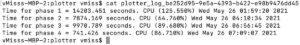 viewing chia log on Mac