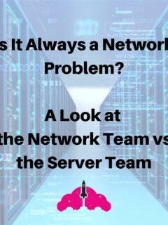 network vs server datacenter